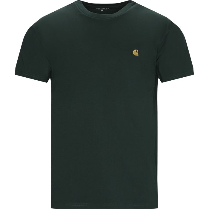 Chase Tee - T-shirts - Regular - Grøn